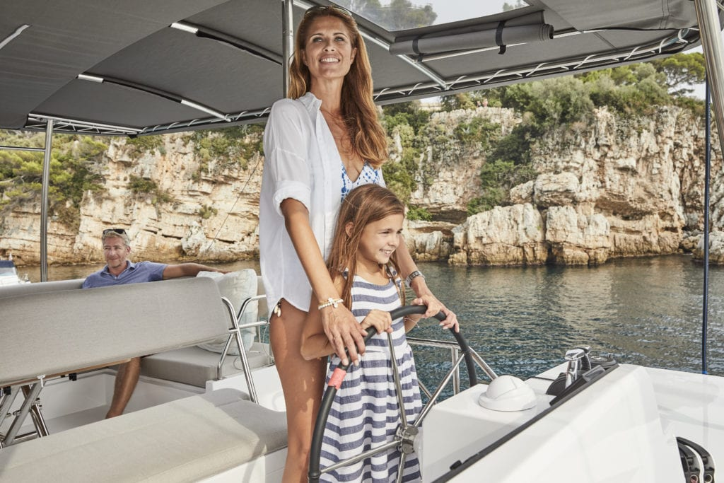 Luxury sailing charter in Cyclades